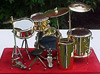 Miniature 5 Pc. Drumset